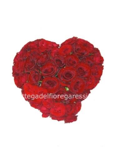 Consegna Fiori.Cuore Rosso Fiori A Garessio Invio E Consegna Fiori A Garessio
